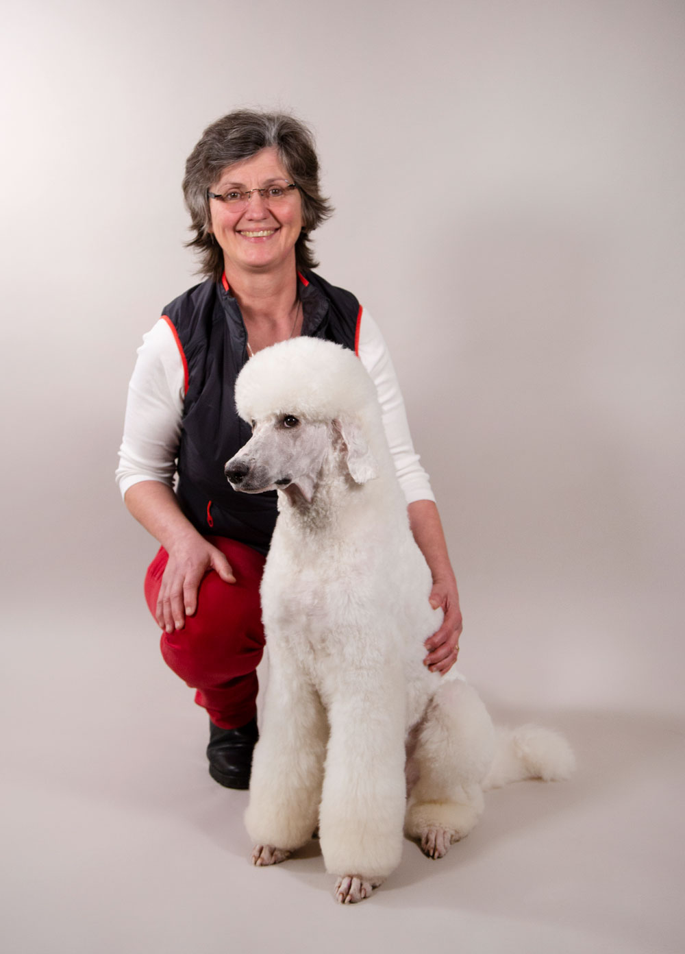 Sabine Schlesinger vom Hundesalon Schlesinger in Erfurt